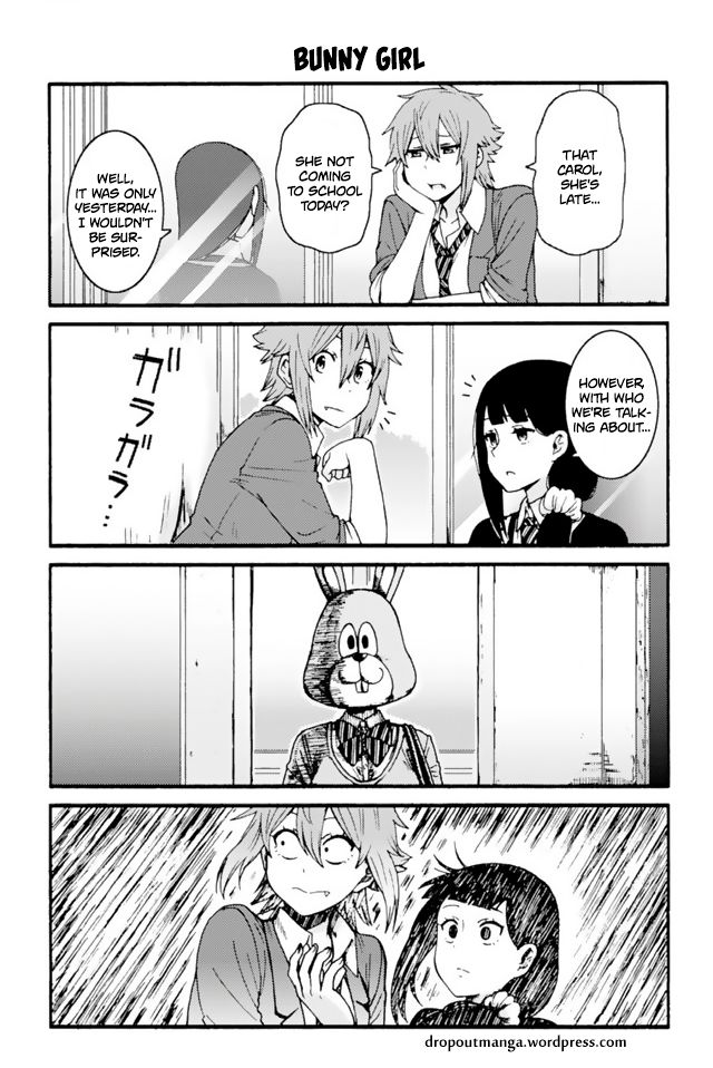 Tomo-chan wa Onnanoko! 630: Bunny Girl at MangaFox