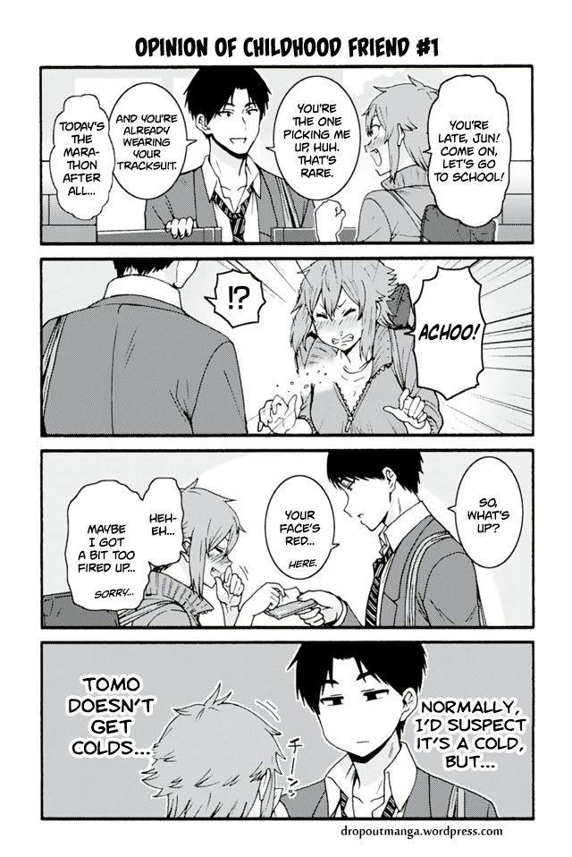Tomo-chan wa Onnanoko! 640: Opinion Of Childhood Friend #1 at MangaFox
