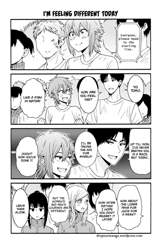 Tomo-chan wa Onnanoko! 642: I'm Feeling Different Today at MangaFox