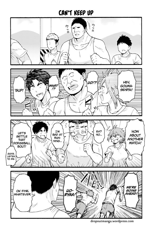 Tomo-chan wa Onnanoko! 644: Can't Keep Up at MangaFox