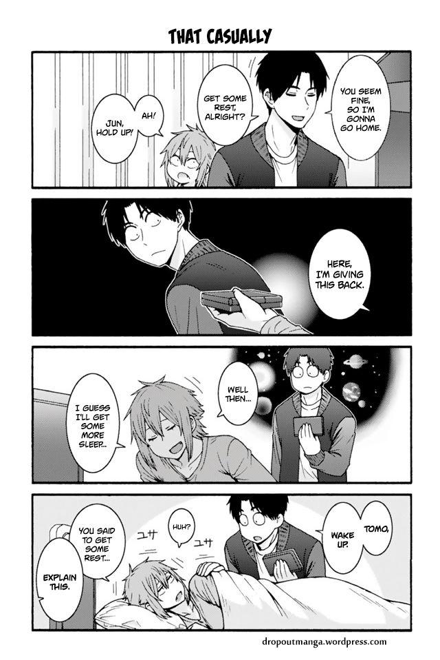Tomo-chan wa Onnanoko! 665: That Casually at MangaFox