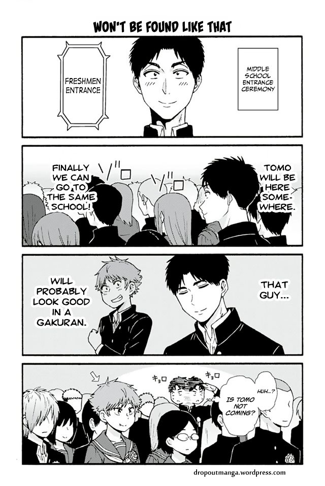 Tomo-chan wa Onnanoko! 670: Won't Be Found Like That at MangaFox