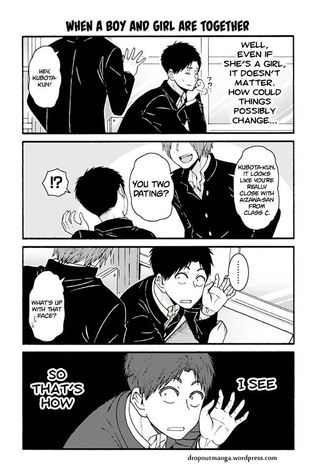 Tomo-chan wa Onnanoko! 677: When A Boy And Girl Are Together at MangaFox