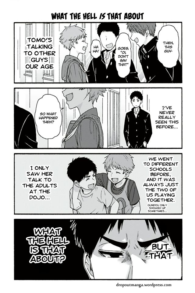 Tomo-chan wa Onnanoko! 679: What The Hell Is That About(V2) at MangaFox