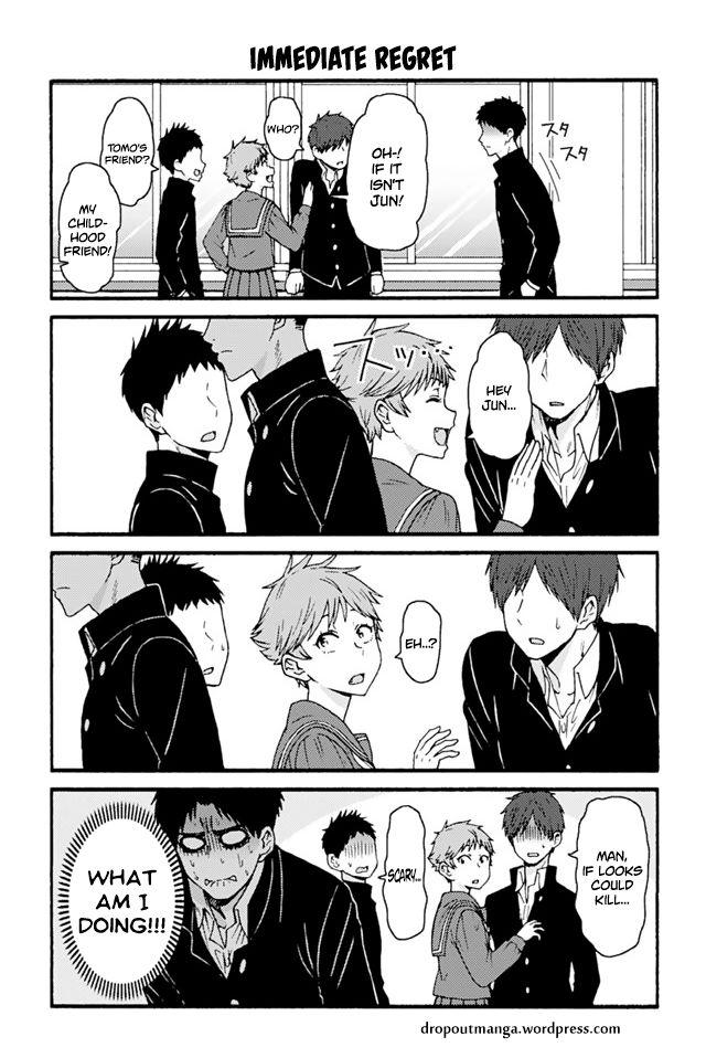 Tomo-chan wa Onnanoko! 680: Immediate Regret at MangaFox
