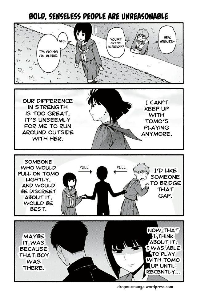 Tomo-chan wa Onnanoko! 685: Bold, Senseless People Are Unreasonable at MangaFox