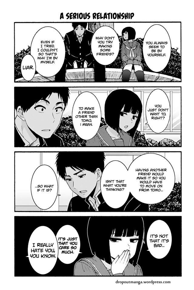 Tomo-chan wa Onnanoko! 687: A serious relationship at MangaFox