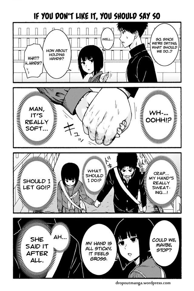 Tomo-chan wa Onnanoko! 692: If You Don't Like It, You Should Say So at MangaFox