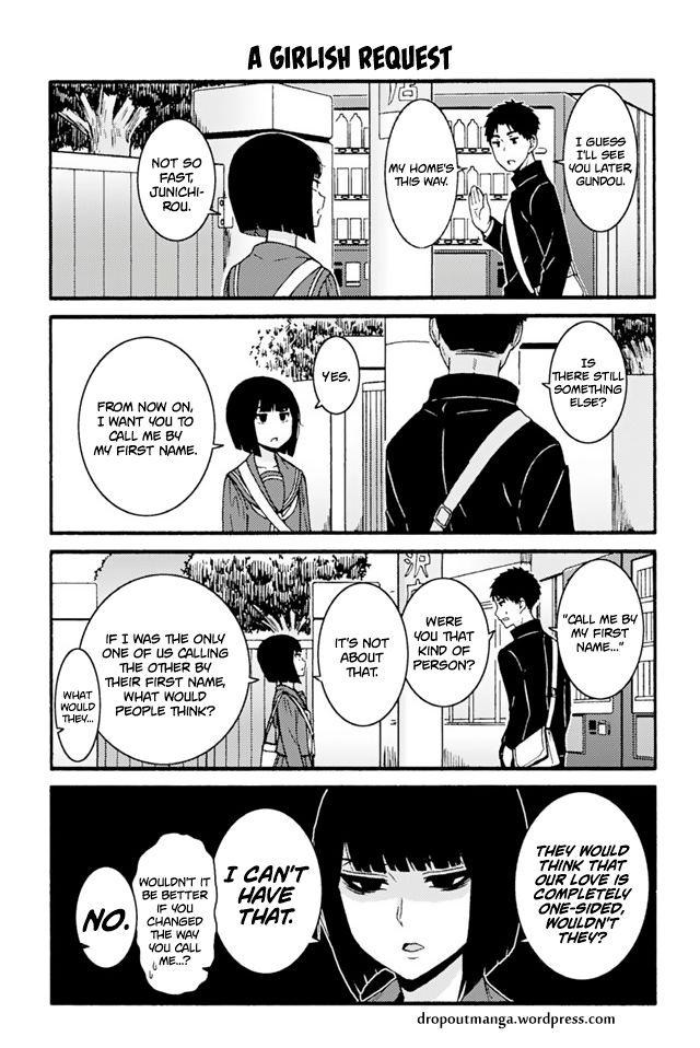 Tomo-chan wa Onnanoko! 693: dropout at MangaFox