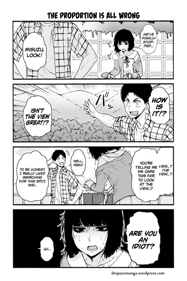 Tomo-chan wa Onnanoko! 698: The Proportion Is All Wrong at MangaFox