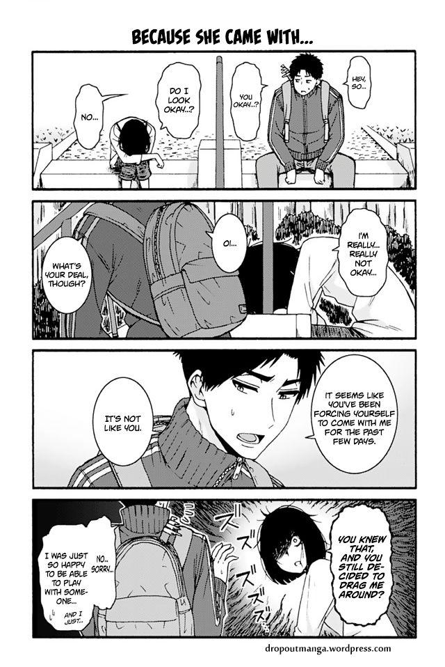 Tomo-chan wa Onnanoko! 703: Because She Came With... at MangaFox