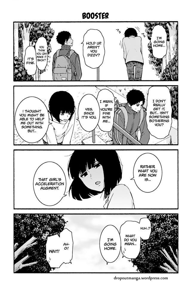 Tomo-chan wa Onnanoko! 704: Booster at MangaFox