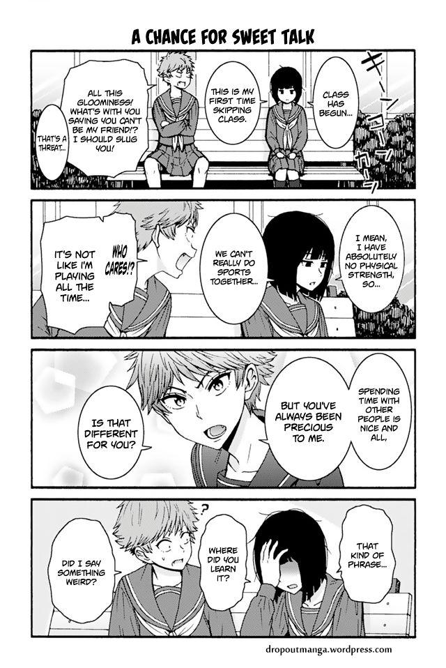 Tomo-chan wa Onnanoko! 706: A Chance For Sweet Talk at MangaFox