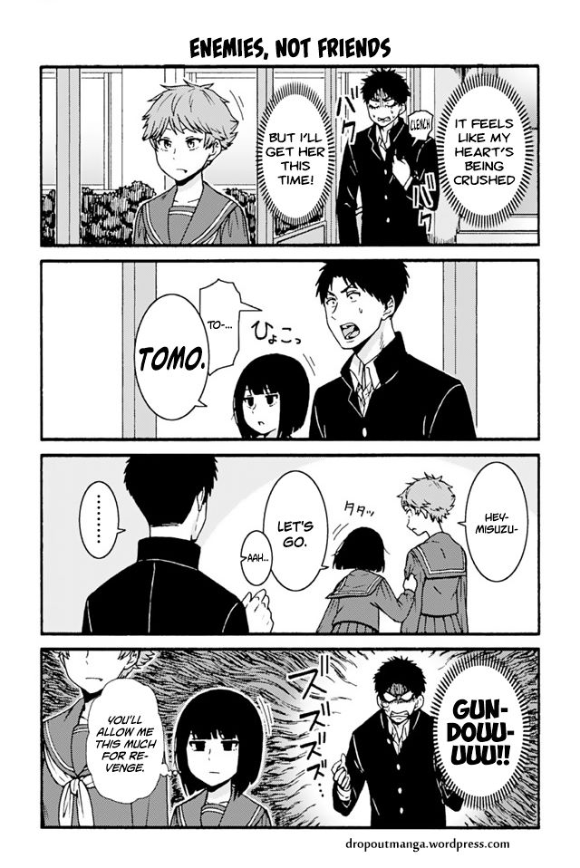 Tomo-chan wa Onnanoko! 712: Enemies, Not Friends at MangaFox