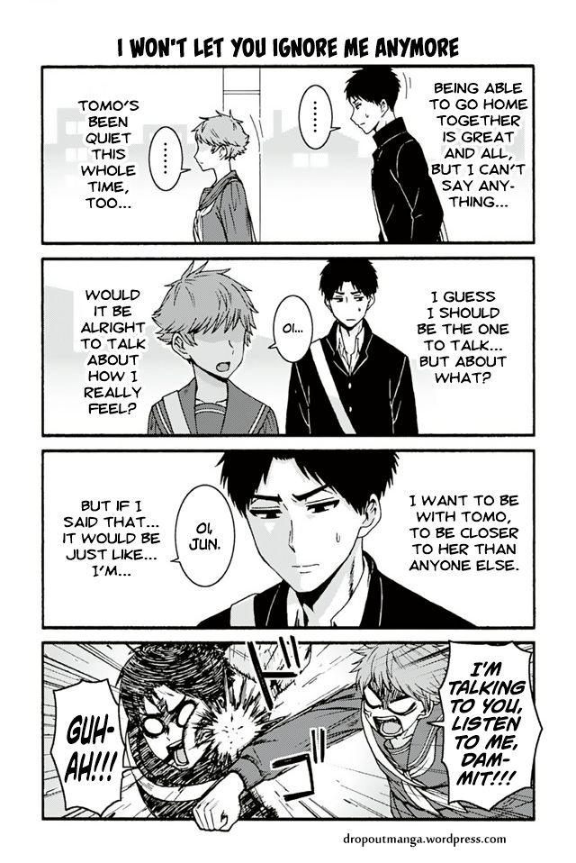 Tomo-chan wa Onnanoko! 715: I Won't Let You Ignore Me Anymore at MangaFox
