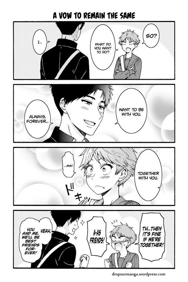 Tomo-chan wa Onnanoko! 718: A Vow To Remain The Same at MangaFox