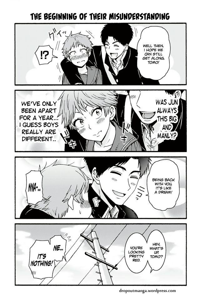 Tomo-chan wa Onnanoko! 719: The Beginning Of Their Misunderstanding at MangaFox