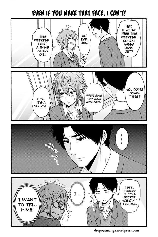 Tomo-chan wa Onnanoko! 730: Even If You Make That Face, I Can't! at MangaFox