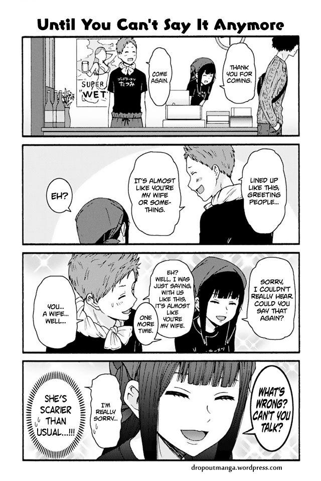 Tomo-chan wa Onnanoko! 741: Until You Can't Say It Anymore at MangaFox