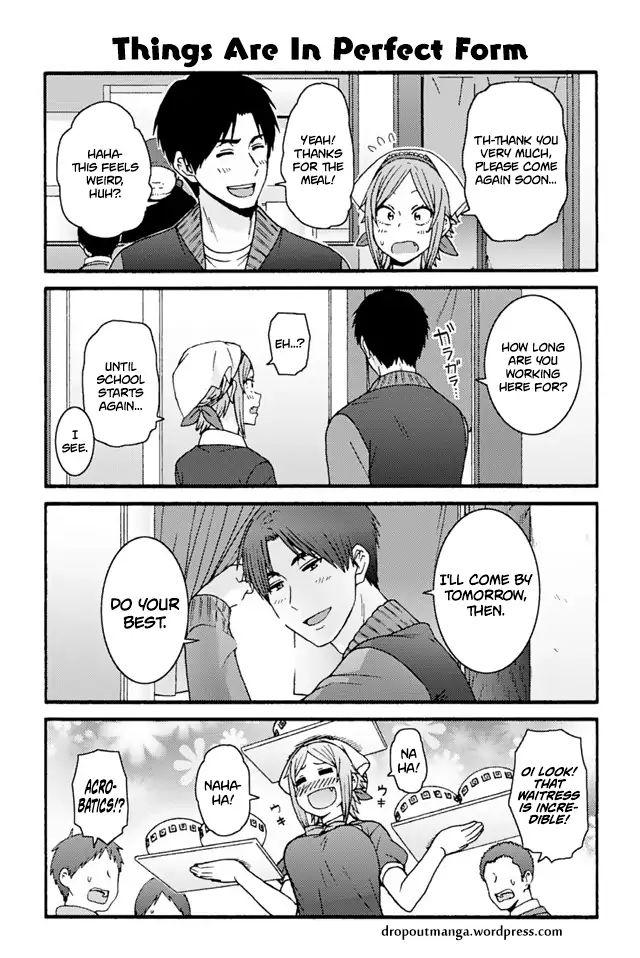 Tomo-chan wa Onnanoko! 748: Things Are In Perfect Form at MangaFox