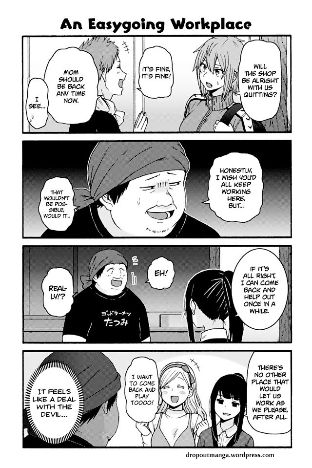Tomo-chan wa Onnanoko! 752: An Easygoing Workplace at MangaFox
