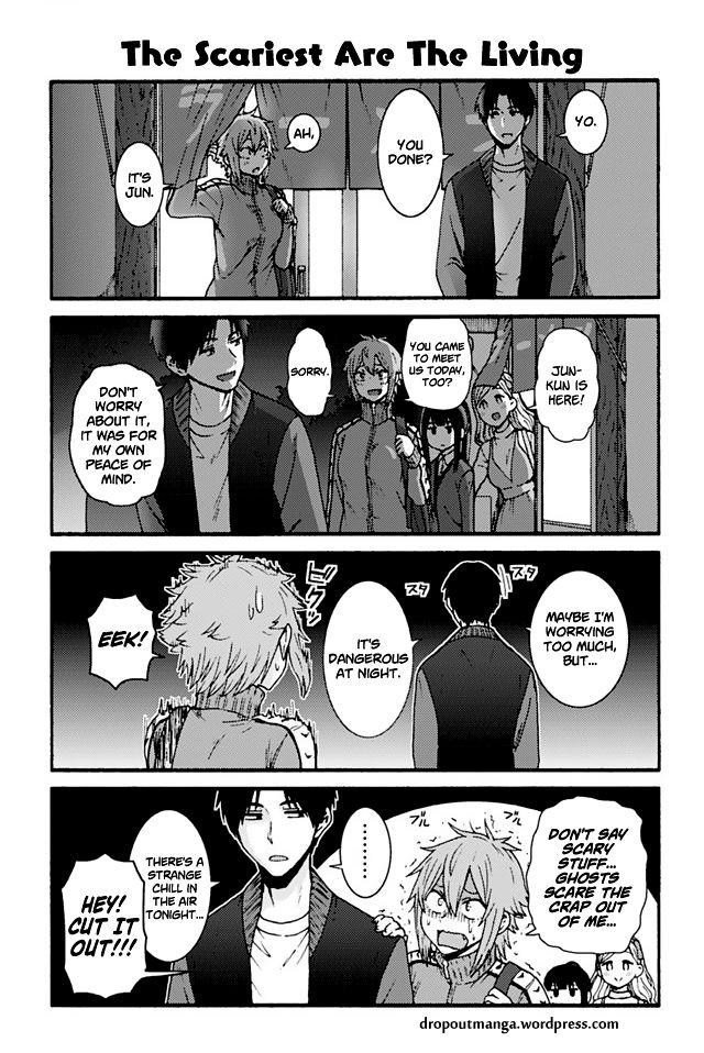 Tomo-chan wa Onnanoko! 753: The Scariest Are The Living at MangaFox