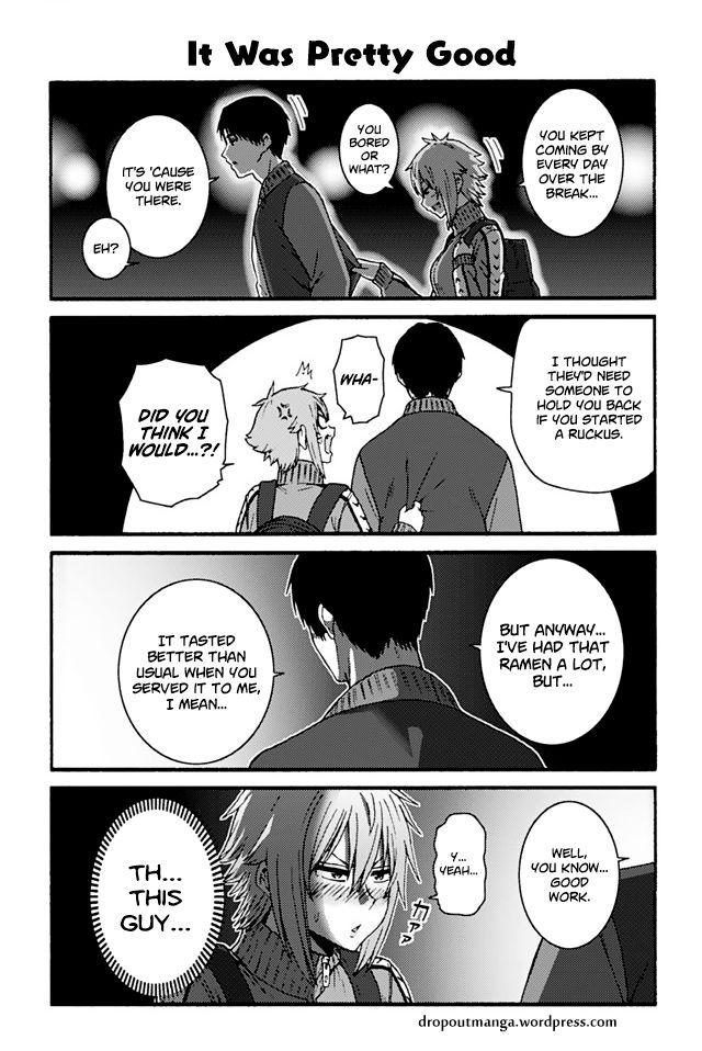 Tomo-chan wa Onnanoko! 754: It Was Pretty Good at MangaFox