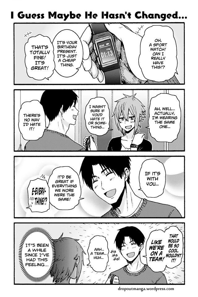 Tomo-chan wa Onnanoko! 756: I Guess Maybe He Hasn't Changed… at MangaFox