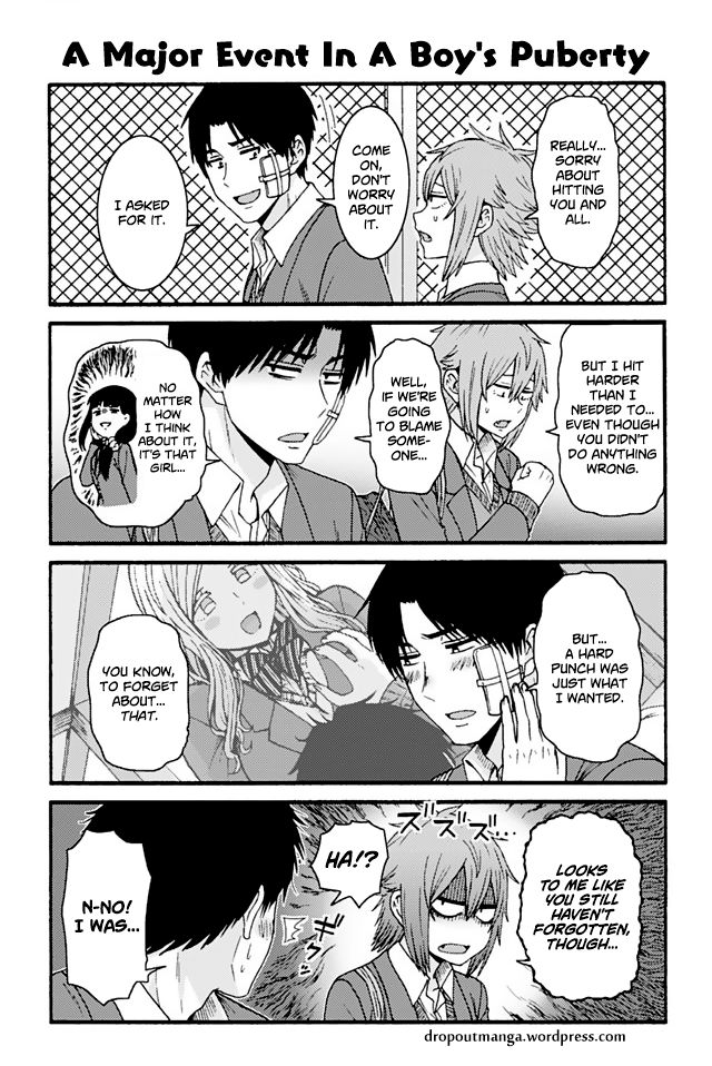 Tomo-chan wa Onnanoko! 773: A Major Event In A Boy's Puberty at MangaFox