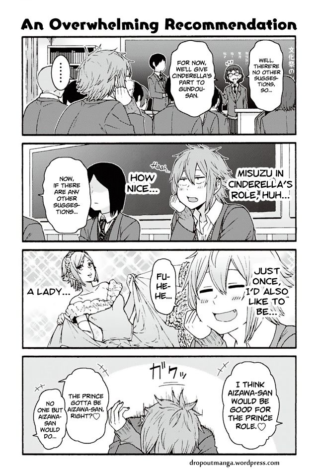 Tomo-chan wa Onnanoko! 780: An Overwhelming Recommendation at MangaFox