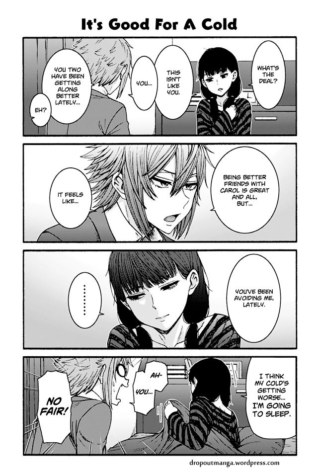 Tomo-chan wa Onnanoko! 785: It's Good For A Cold at MangaFox