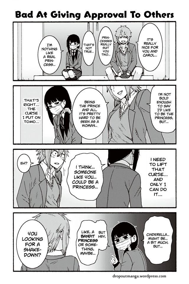Tomo-chan wa Onnanoko! 796: Bad At Giving Approval To Others at MangaFox