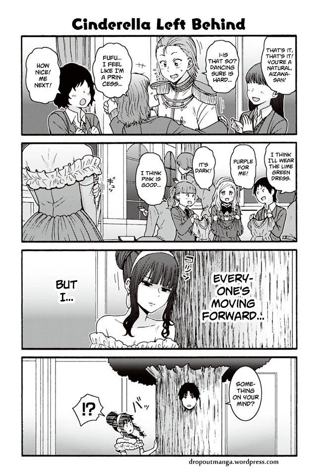 Tomo-chan wa Onnanoko! 800: Cinderella left behind at MangaFox