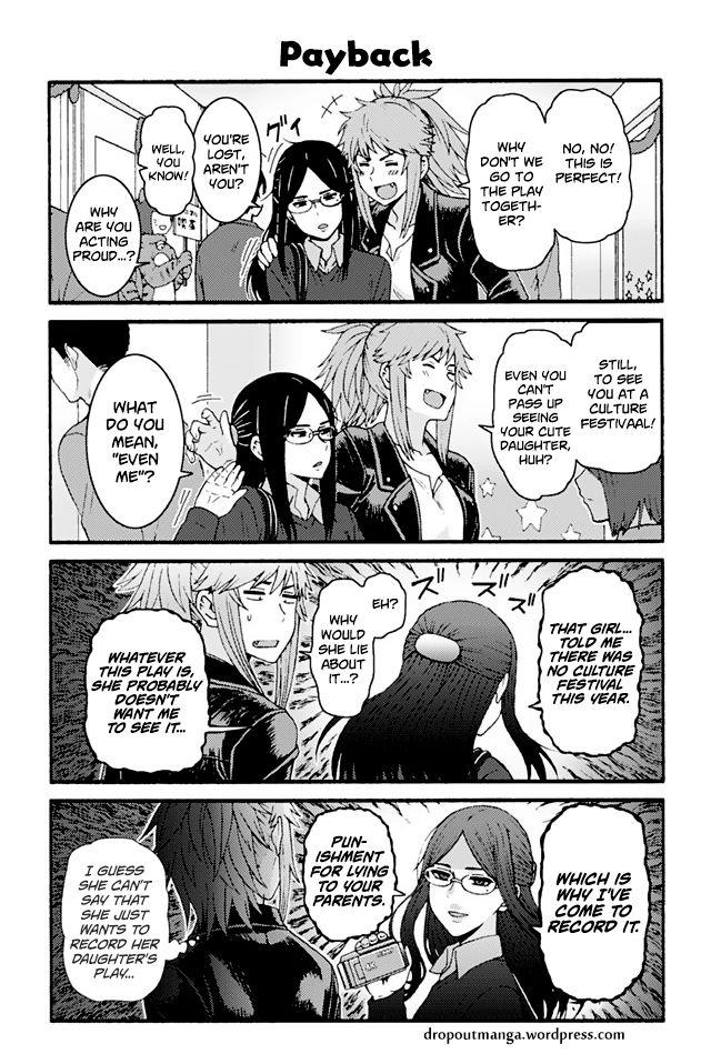 Tomo-chan wa Onnanoko! 806: Payback at MangaFox