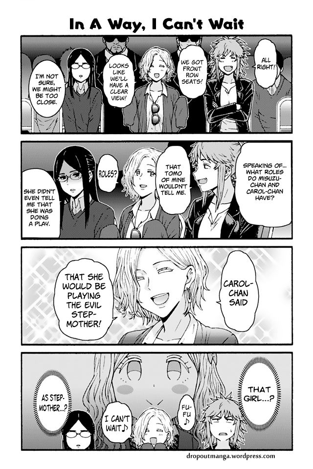 Tomo-chan wa Onnanoko! 809: In a way,I cant wait at MangaFox
