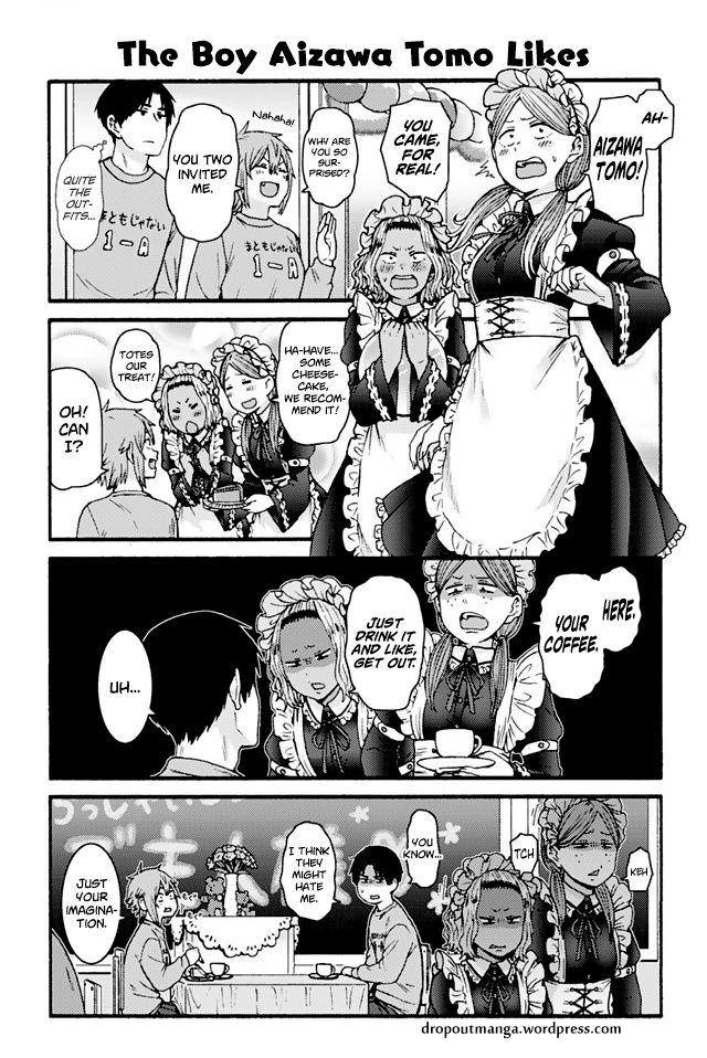 Tomo-chan wa Onnanoko! 820: The Boy Aizawa Tomo Likes at MangaFox