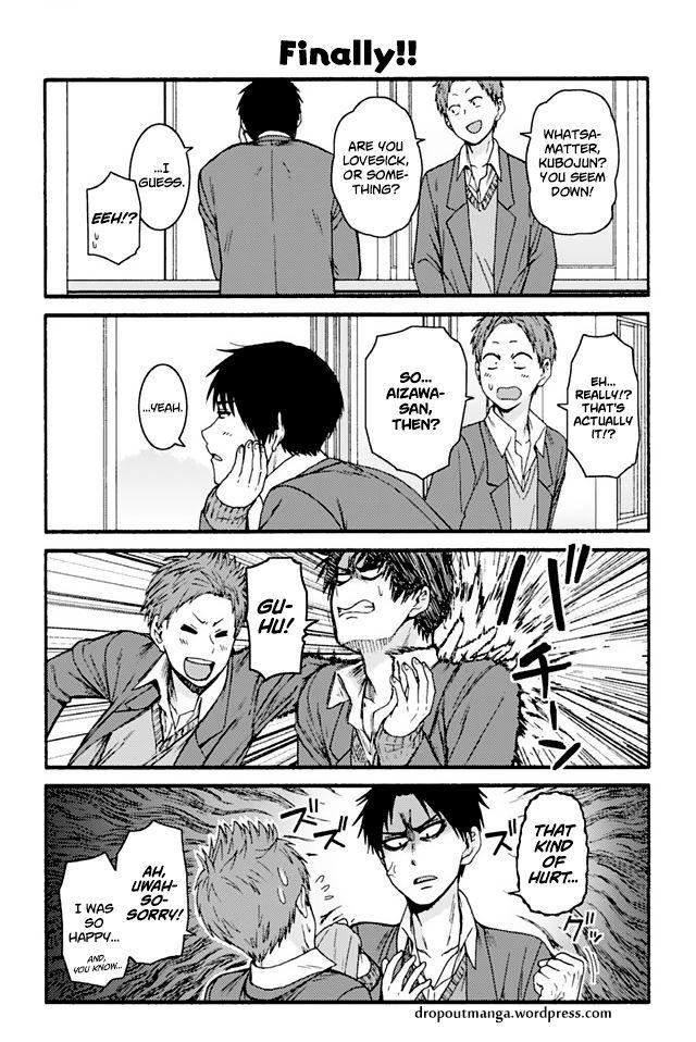 Tomo-chan wa Onnanoko! 835: Finally!! at MangaFox