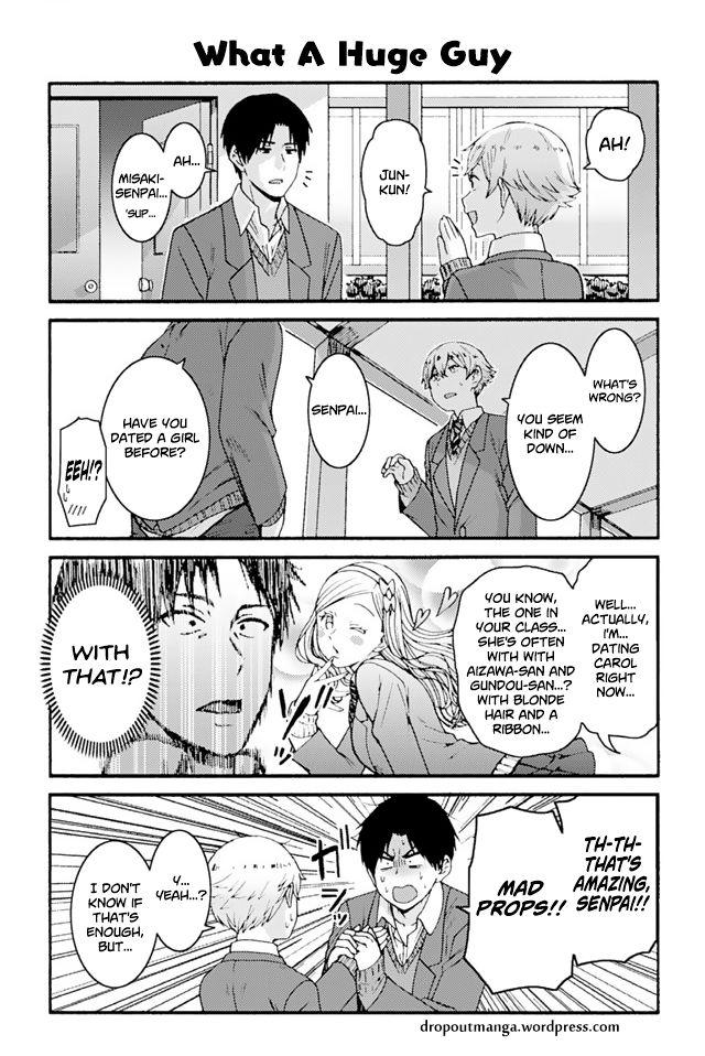 Tomo-chan wa Onnanoko! 837: What A Huge Guy at MangaFox