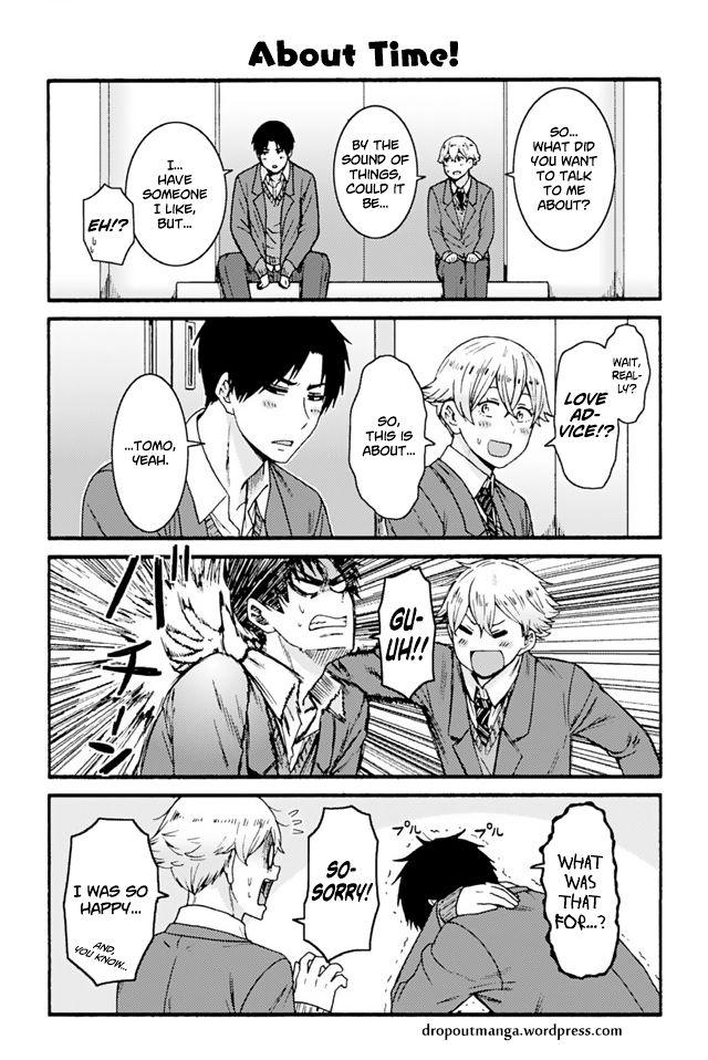 Tomo-chan wa Onnanoko! 838: About Time at MangaFox