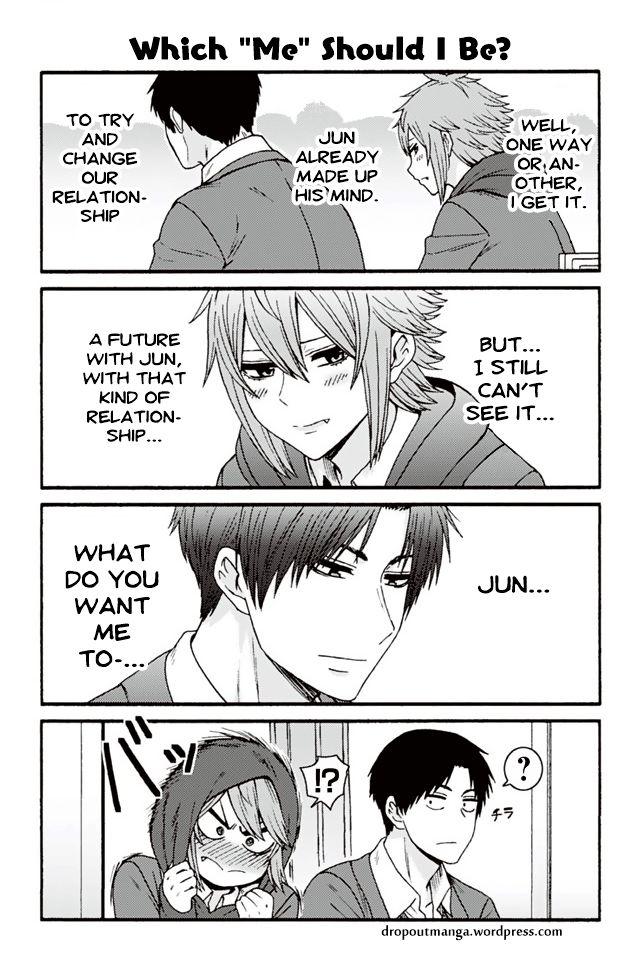 """Tomo-chan wa Onnanoko! 842: Which """"Me"""" Should I Be? at MangaFox"""