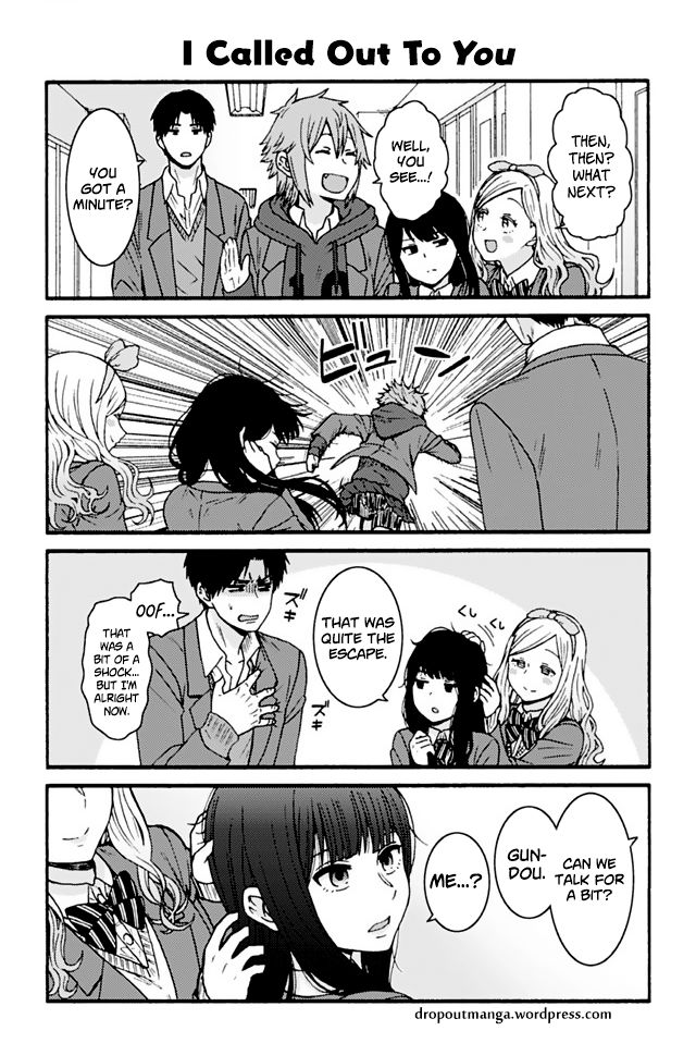 Tomo-chan wa Onnanoko! 843: I Called Out To You at MangaFox