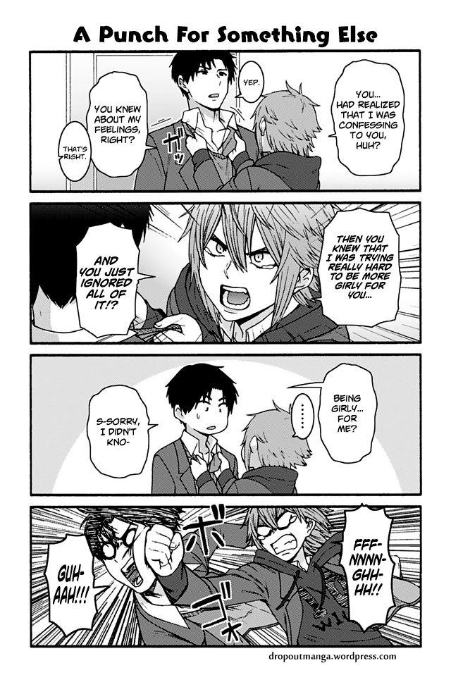 Tomo-chan wa Onnanoko! 854: A Punch For Something Else at MangaFox