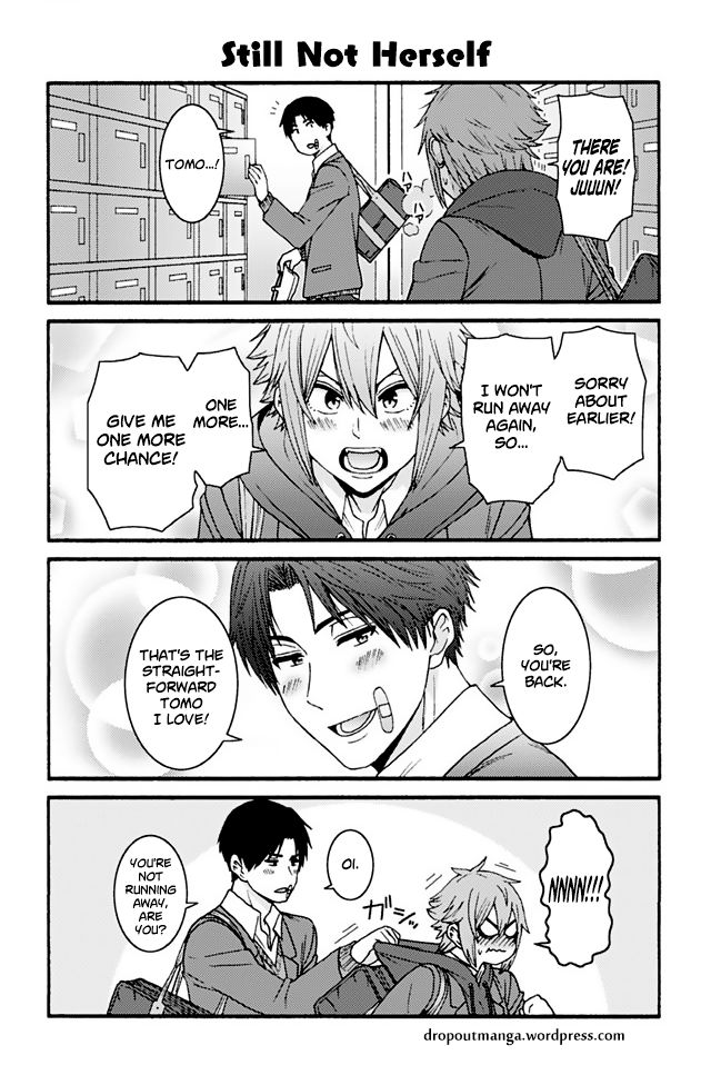 Tomo-chan wa Onnanoko! 863: Still Not Herself at MangaFox