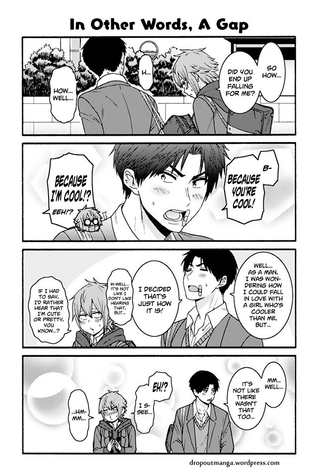 Tomo-chan wa Onnanoko! 865: In Other Words, A Gap at MangaFox
