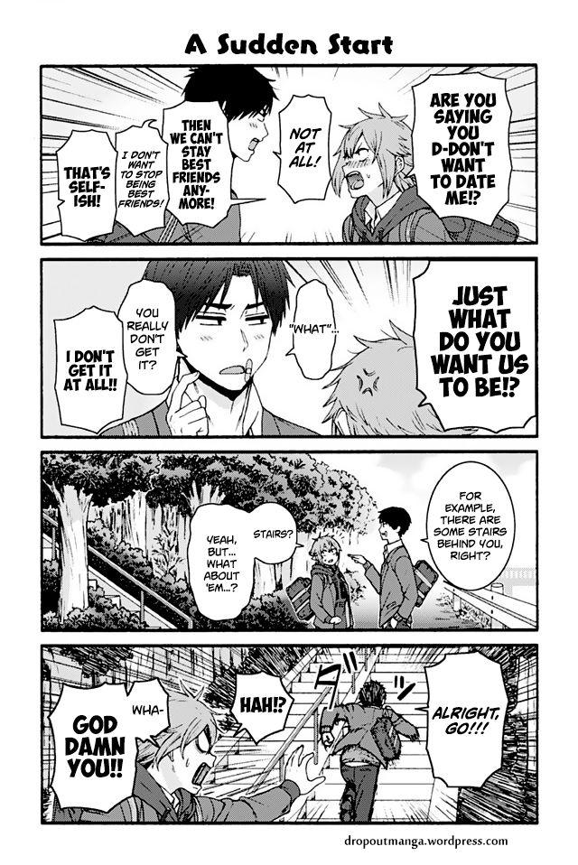 Tomo-chan wa Onnanoko! 867: A Sudden Start at MangaFox