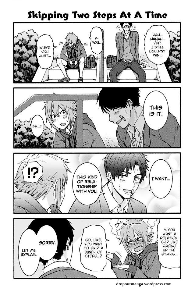 Tomo-chan wa Onnanoko! 868: Skipping Two Steps At A Time at MangaFox