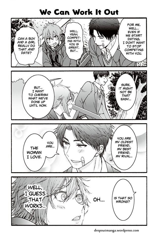 Tomo-chan wa Onnanoko! 869: We Can Work It Out at MangaFox