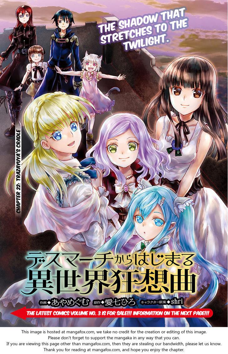 Death March kara Hajimaru Isekai Kyousoukyoku 22: Trazayuya's Cradle at MangaFox