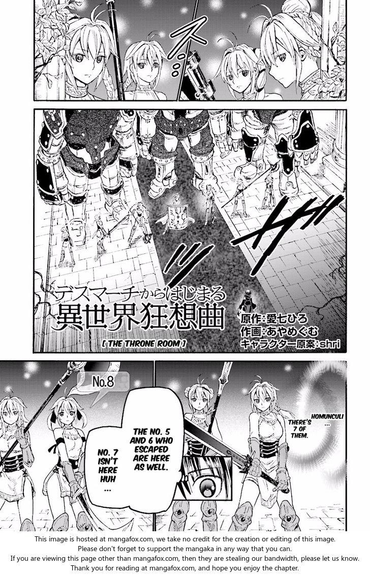 Death March kara Hajimaru Isekai Kyousoukyoku 24: The Throne Room at MangaFox