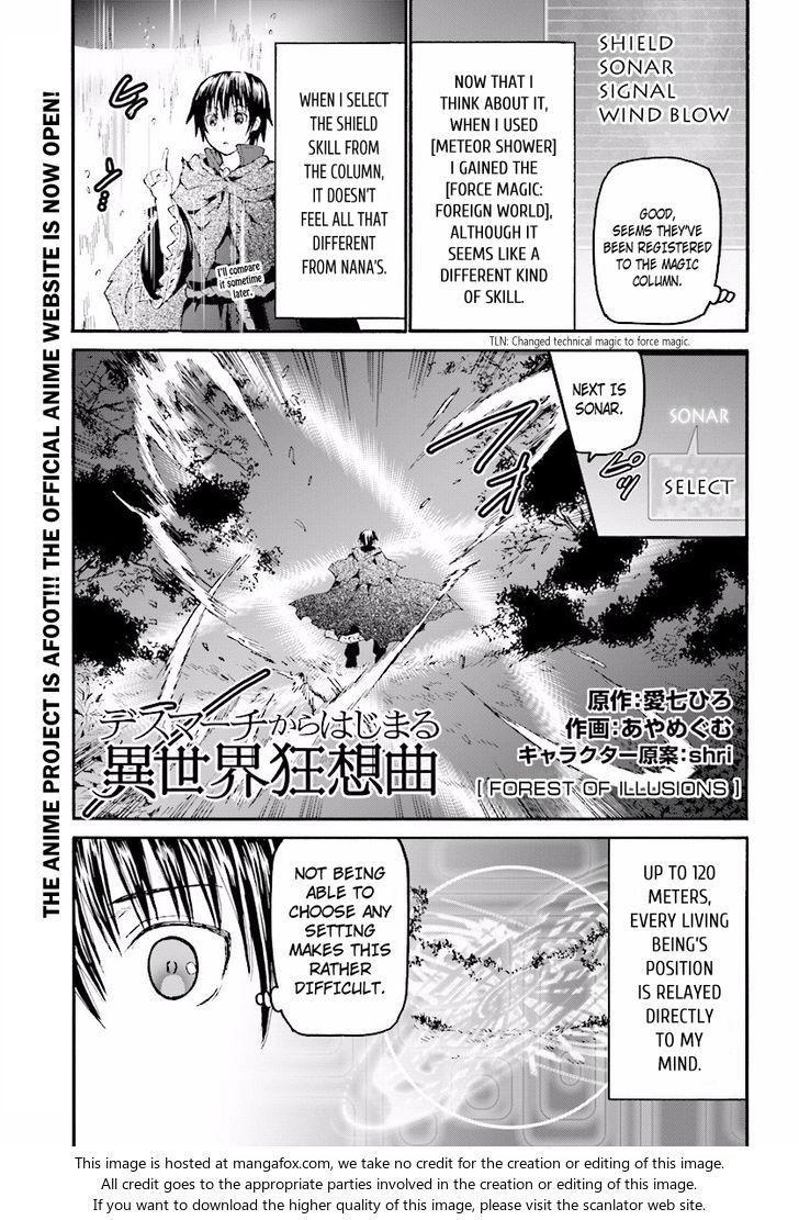 Death March kara Hajimaru Isekai Kyousoukyoku 35: Forest of Illusions at MangaFox